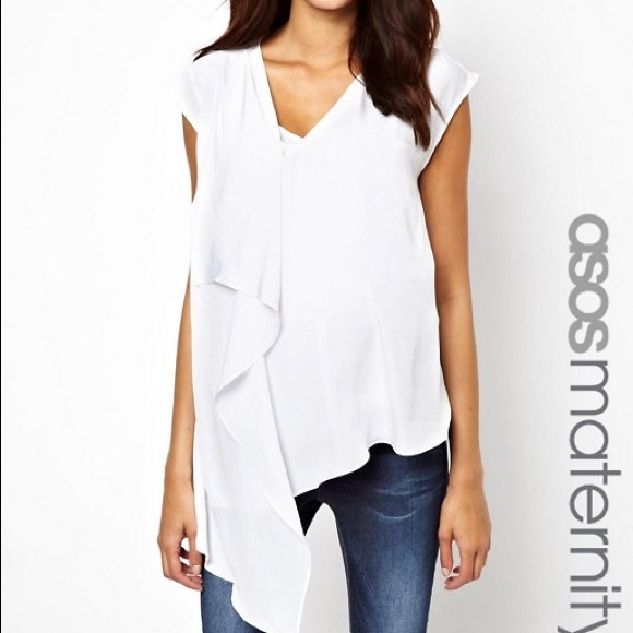 ASOS Tops - ASOS Drape Accent Sleeveless Top